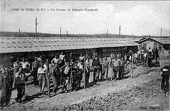 camp-de-gursb-p-un-groupe-de-refugies-espagnols